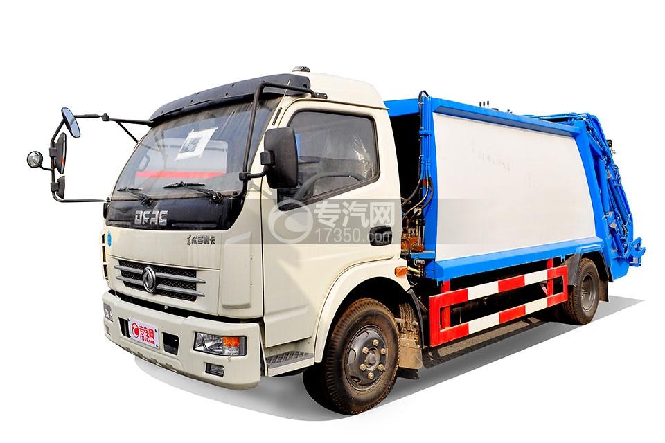 东风多利卡压缩式垃圾车4