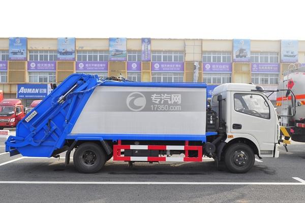 东风多利卡压缩式垃圾车方位图3