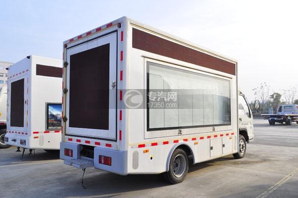 福田时代小卡之星3LED广告车方位图3