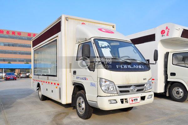 福田时代小卡之星3LED广告车方位图4