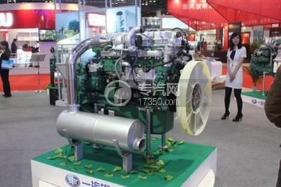 锡柴CA6DL1-28E4发动机