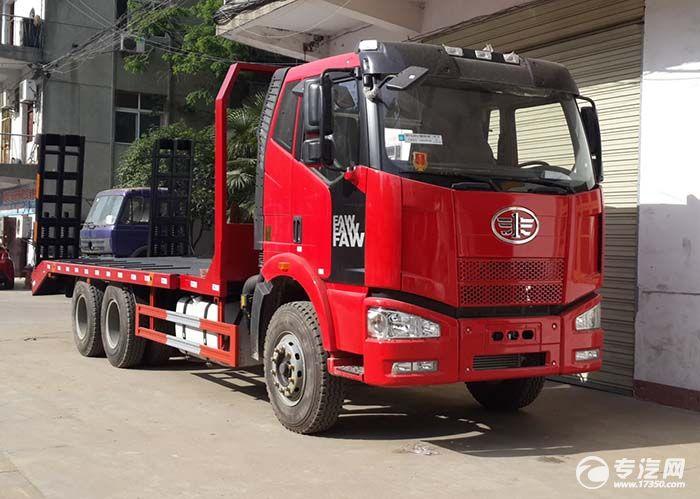 解放J5骏威平板运输车遇上双十二仅售16万