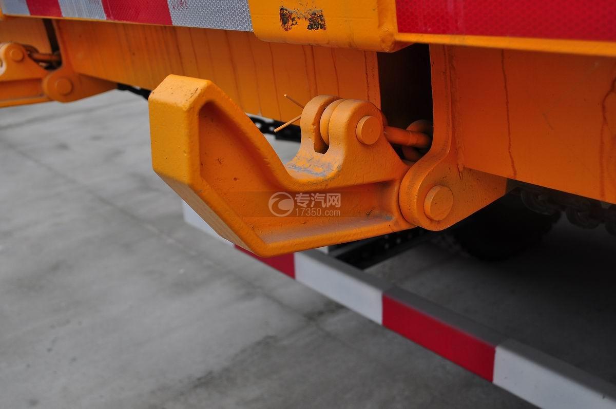 陕汽德龙F3000后双桥336马力自卸车自动锁钩1