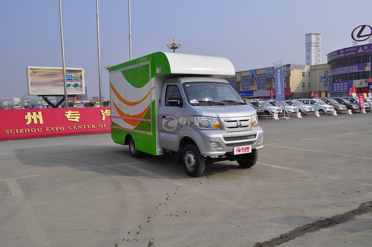 重汽王牌W1流动售货车右前面