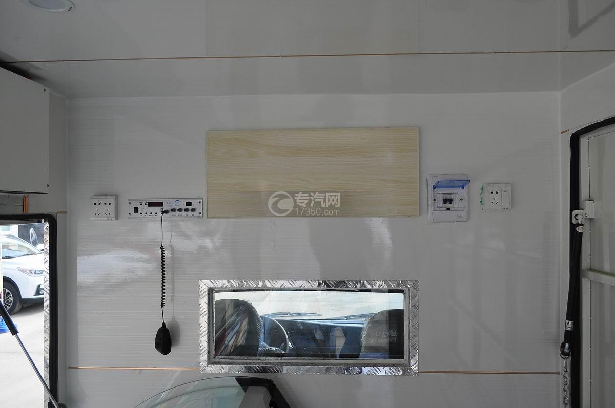 重汽王牌W1流動售貨車后視鏡