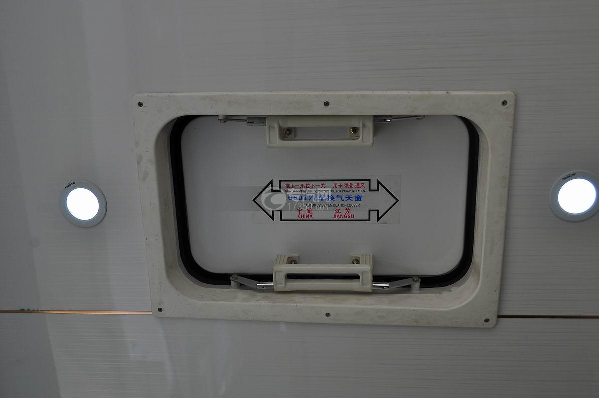 重汽王牌W1流動售貨車通氣天窗