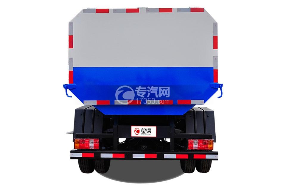 福田时代小卡之星3挂桶式垃圾车4