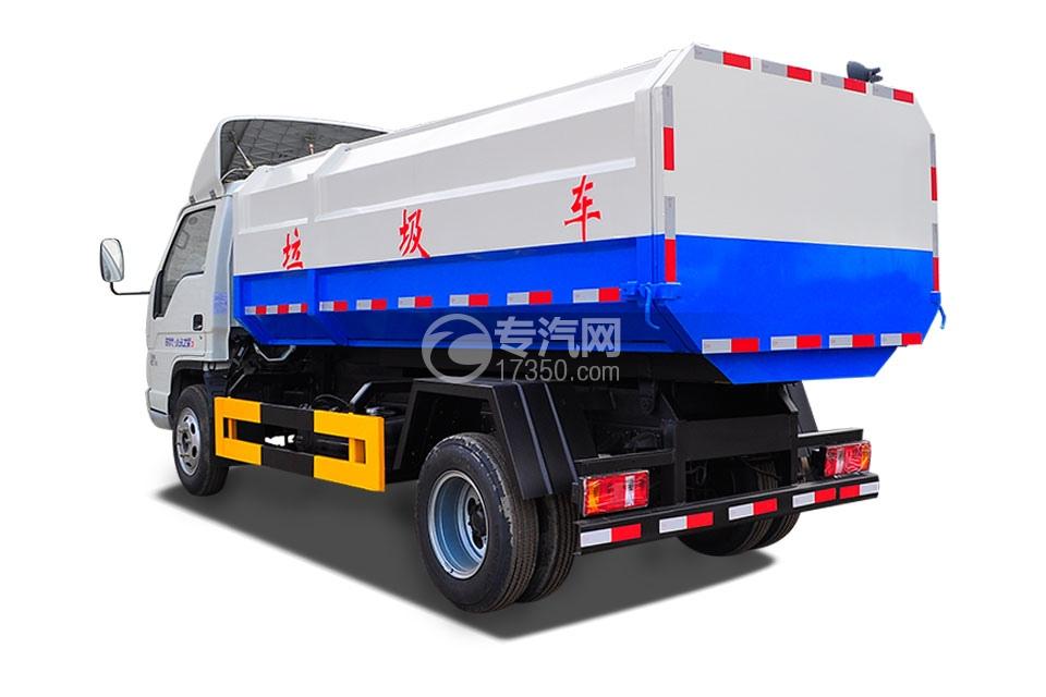 福田时代小卡之星3挂桶式垃圾车3