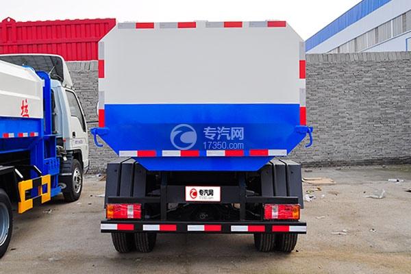 福田时代小卡之星3挂桶式垃圾车方位图4