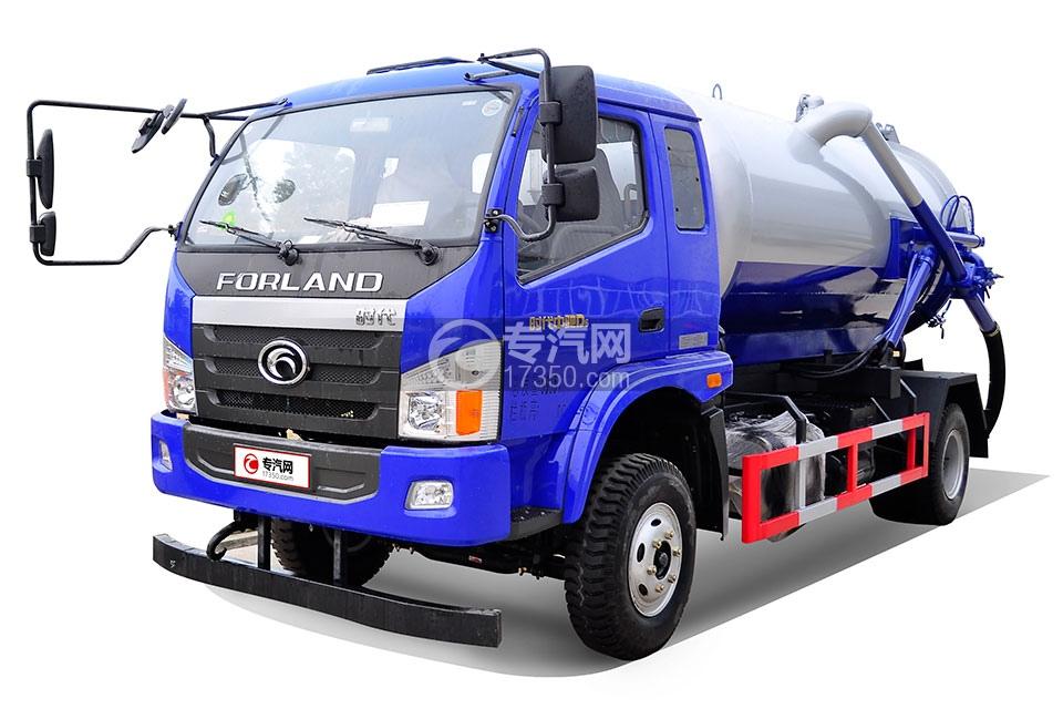福田时代中驰D6吸粪车
