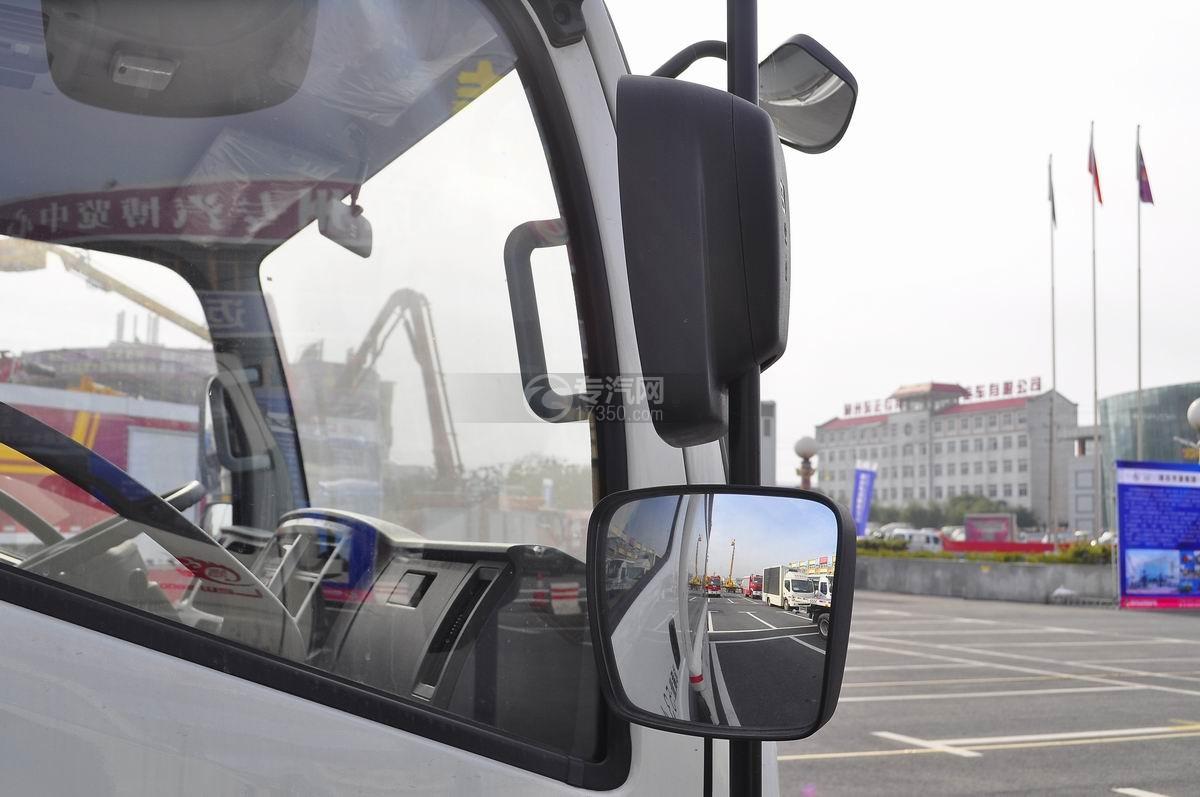 解放LED广告车加长版后视镜