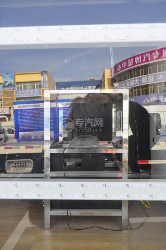 解放LED广告车箱体内功放