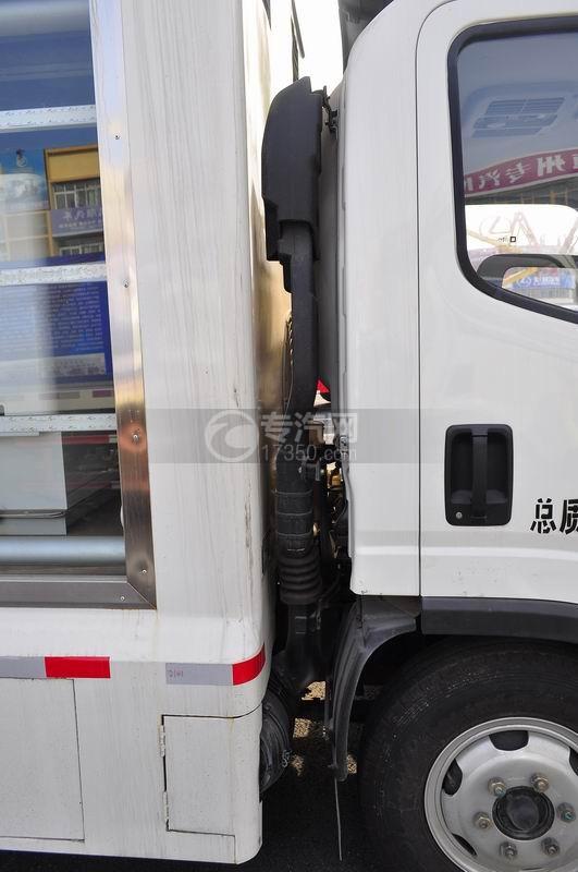解放LED广告车空气进出口