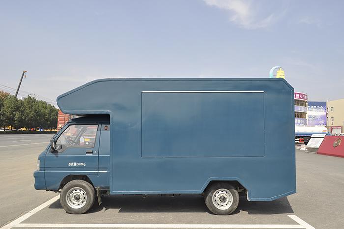 流動售貨車為云南高鐵建設助力