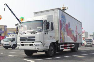 东风天锦7.6米流动舞台车图片