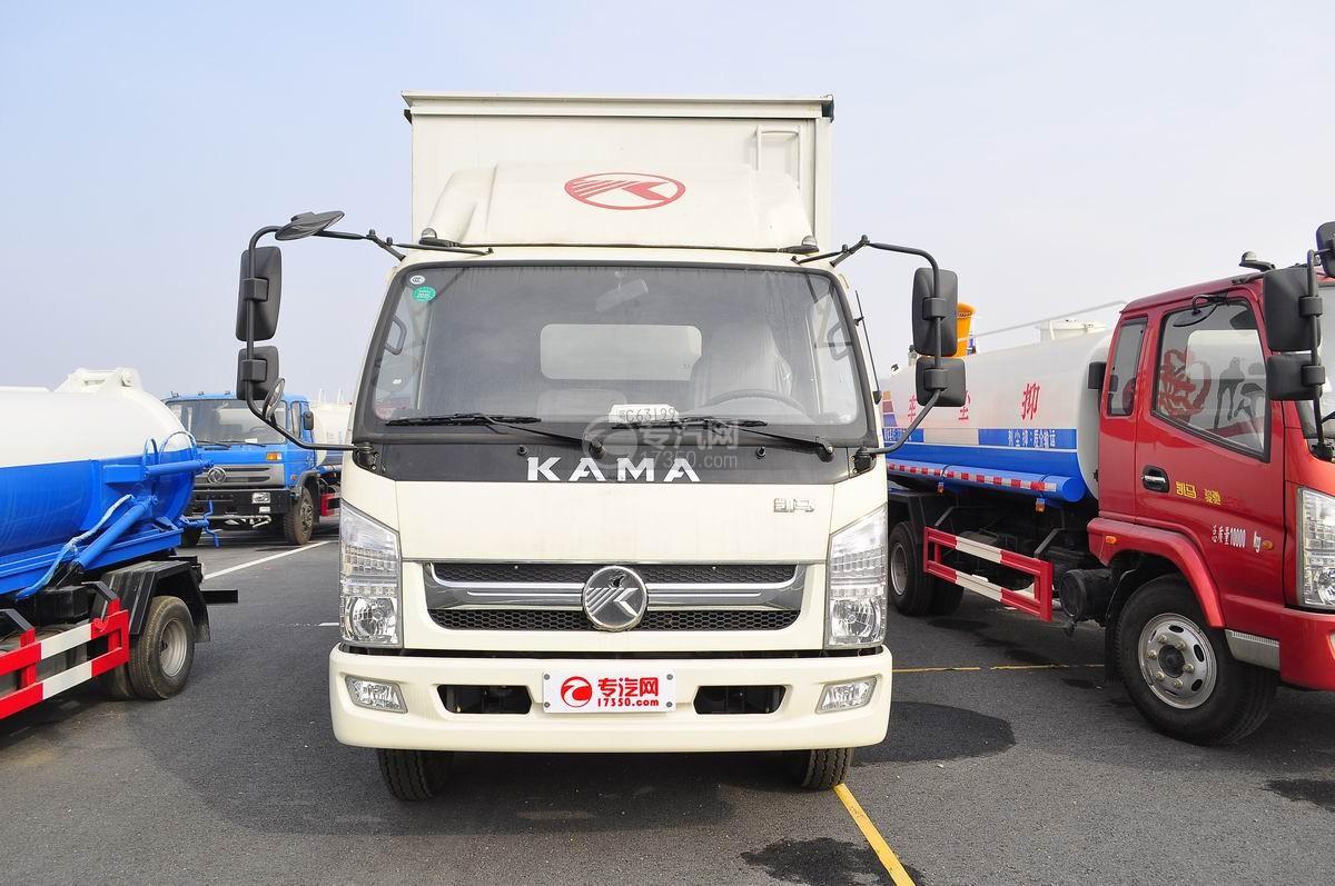 凯马骏驰4200单桥5.4米舞台车正面图
