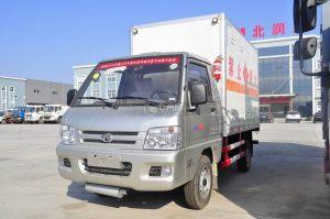 福田驭菱易燃气体厢式运输车图片