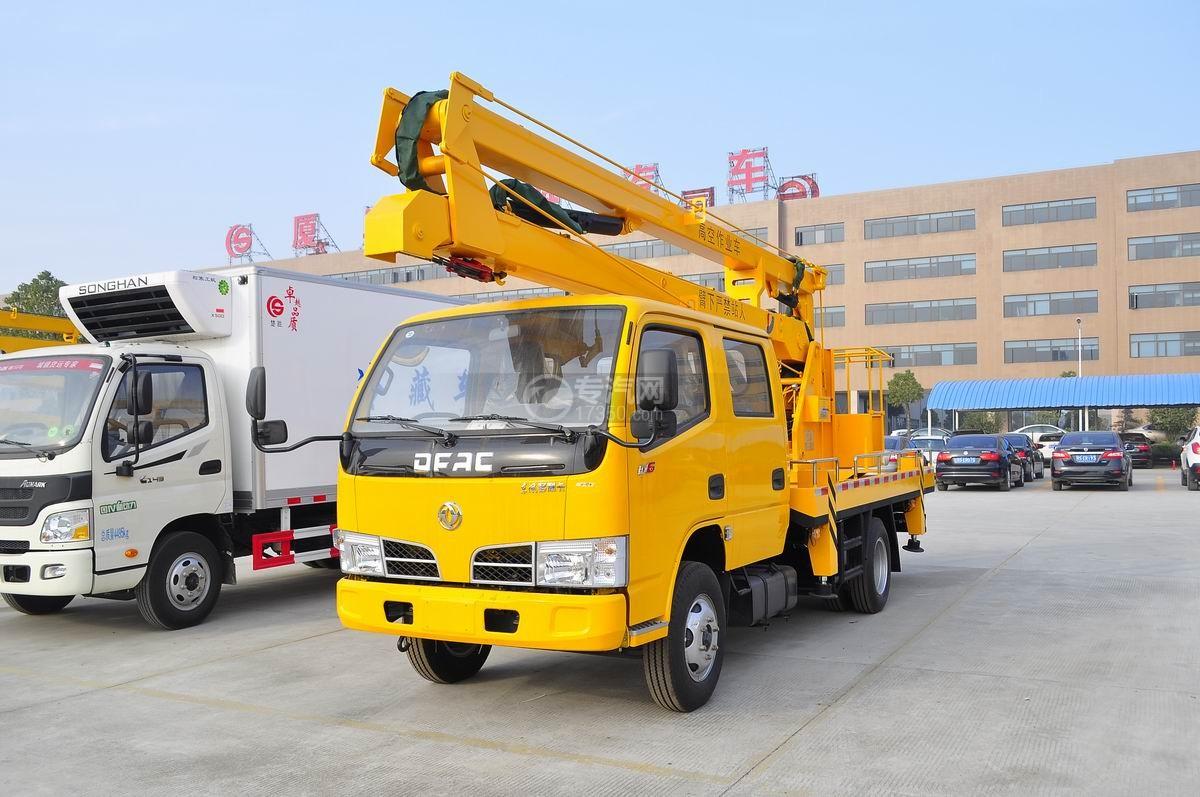 东风小多利卡双排座14米高空作业车图片