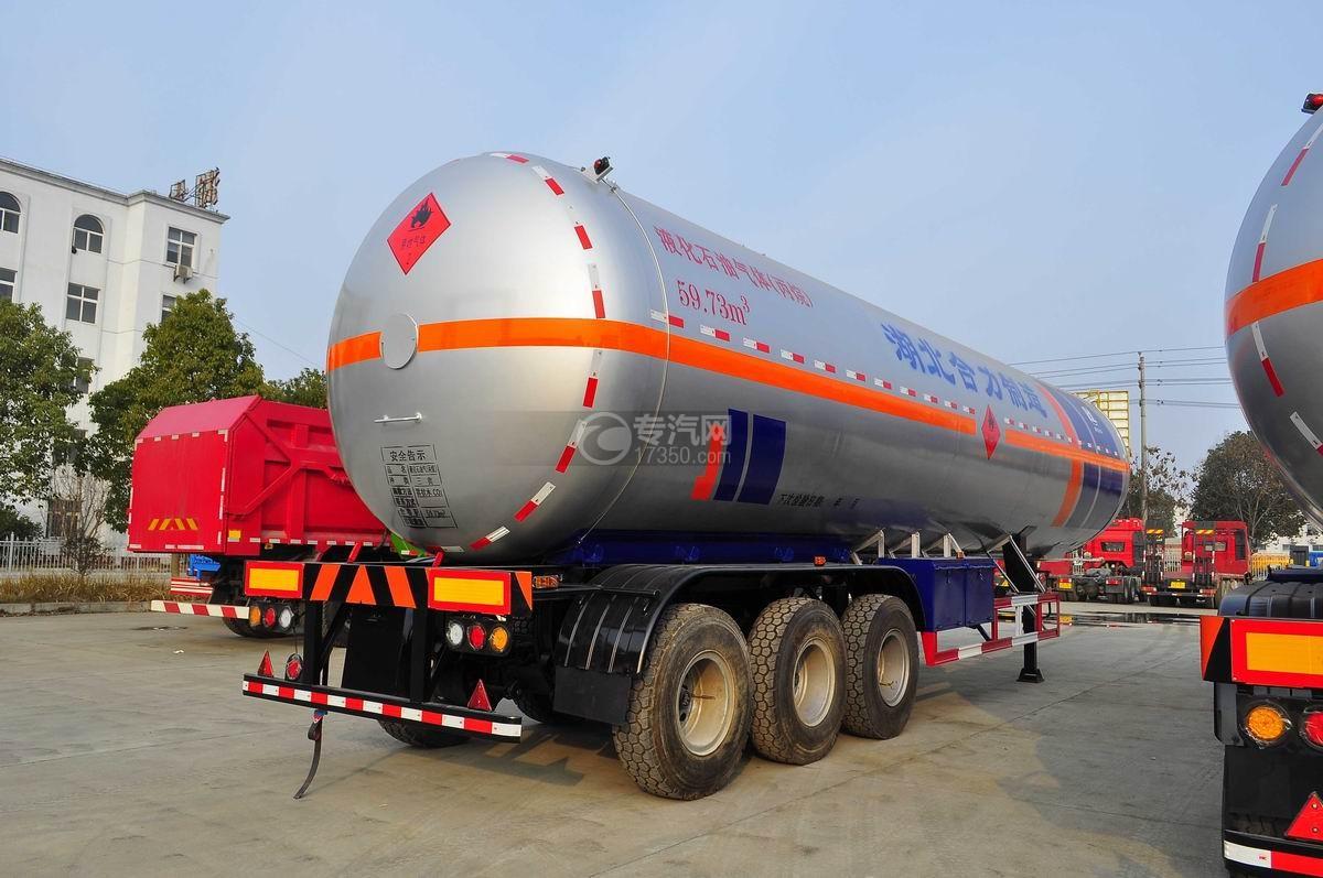 59.73方液化石油气体(丙烷)运输半挂车右后图