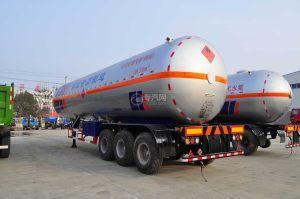 59.73方液化石油气体(丙烷)运输半挂车图片