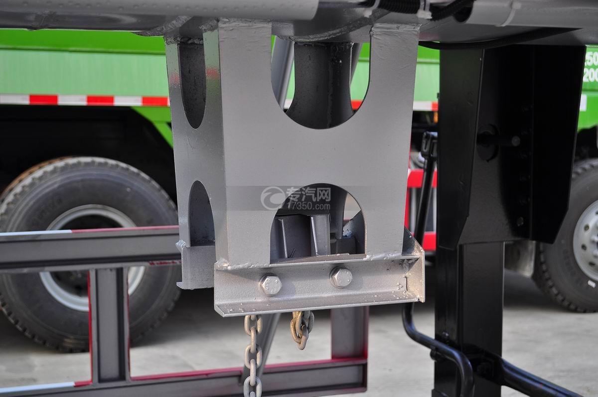 59.73方液化石油气体(丙烷)运输半挂车备胎架
