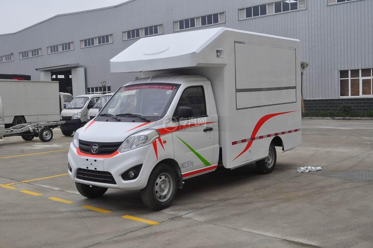 福田伽途T3流动售货车(白色)