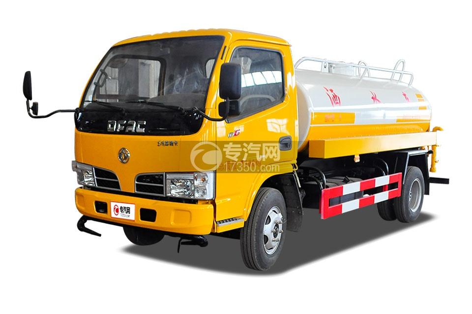 东风多利卡D6型国五4.25方洒水车