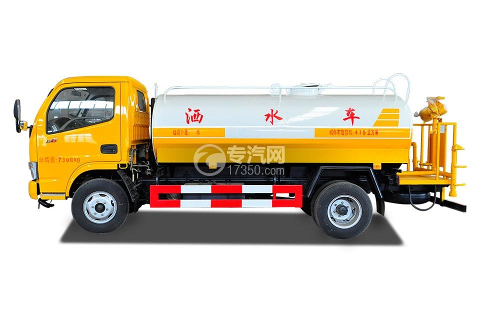 东风多利卡D6型国五4.25方洒水车3