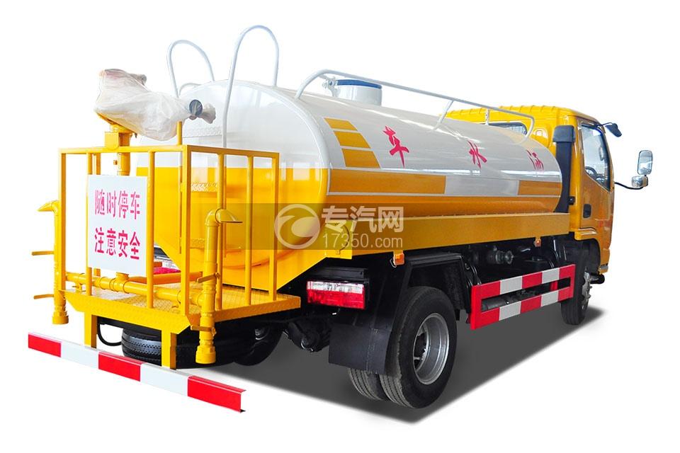 东风多利卡D6型国五4.25方洒水车4