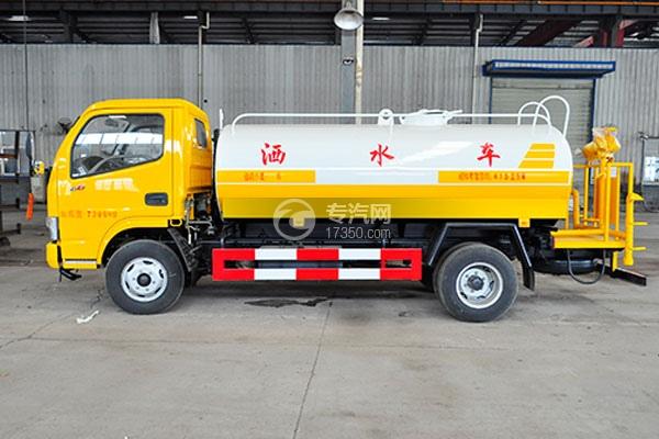东风多利卡D6型国五4.25方洒水车方位图3
