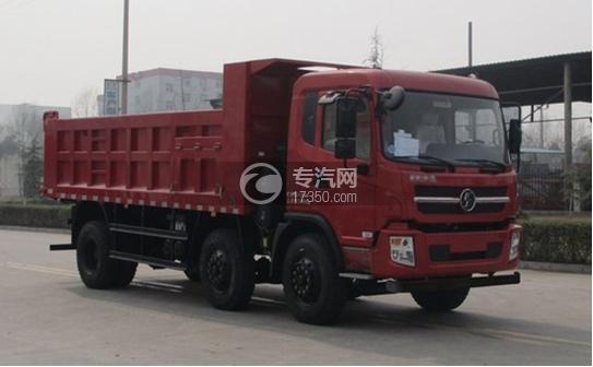 陕汽轩德6系小三轴自卸车
