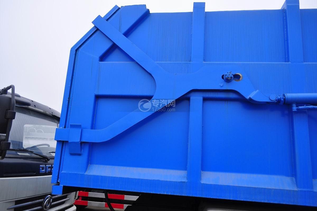 东风145对接式垃圾车骨架