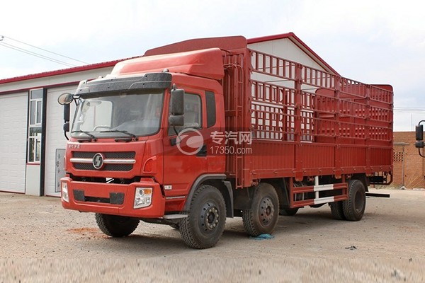 陕汽轩德6系6×2小三轴载货车
