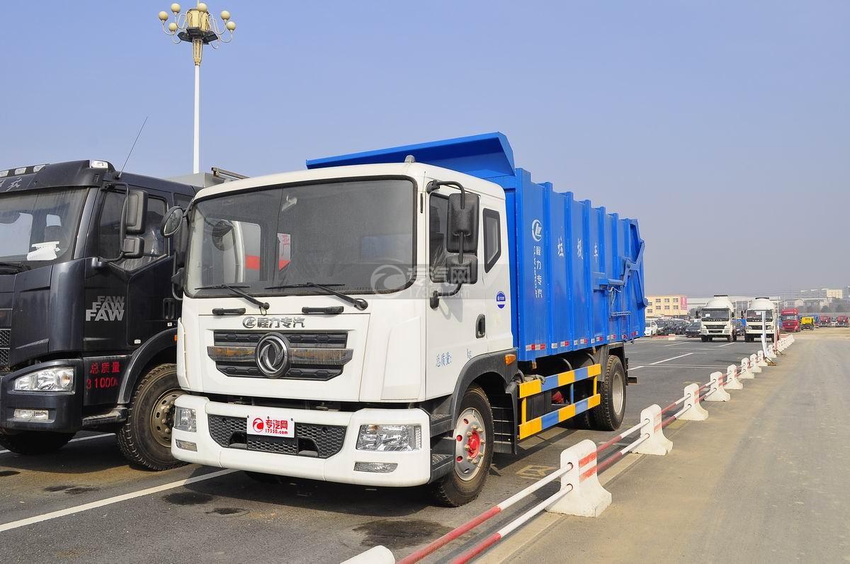 东风D9对接式垃圾车图片