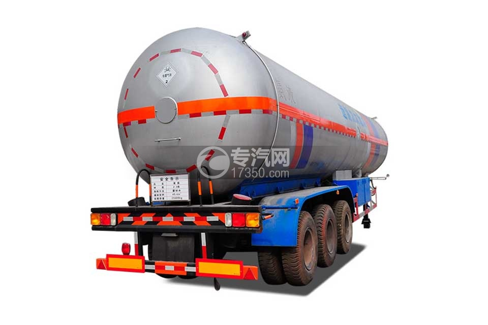 49.4方液化气体运输半挂车右前图