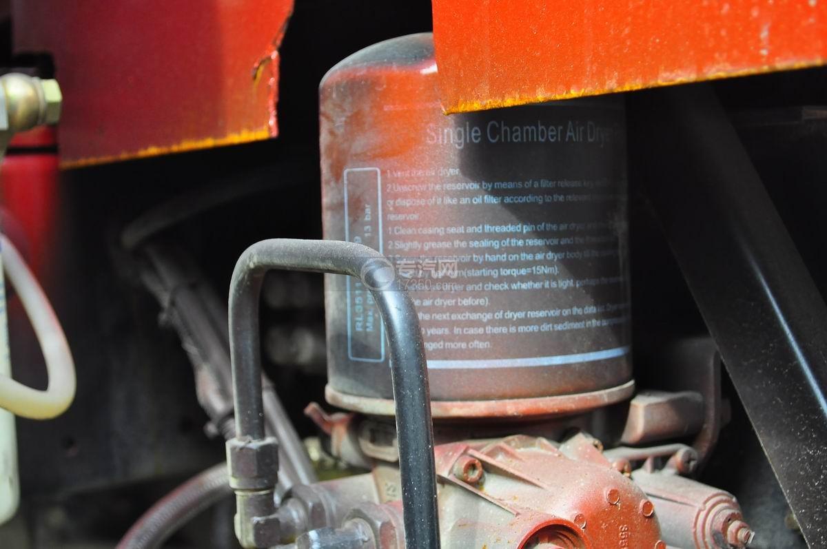 重汽豪曼单桥平板运输车空气干燥剂