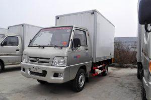 福田馭菱廂式運輸車圖片