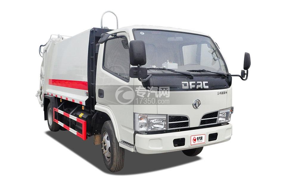 东风福瑞卡压缩式垃圾车