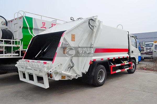 东风福瑞卡压缩式垃圾车方位图3