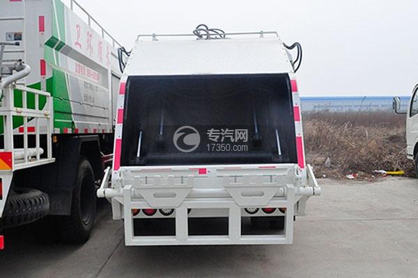东风福瑞卡压缩式垃圾车方位图4