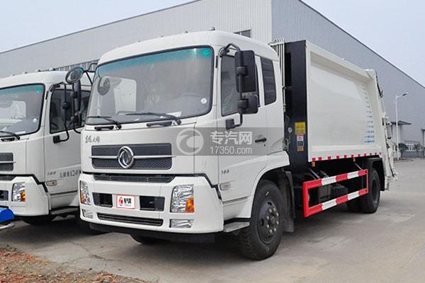 东风天锦压缩式垃圾车方位图2