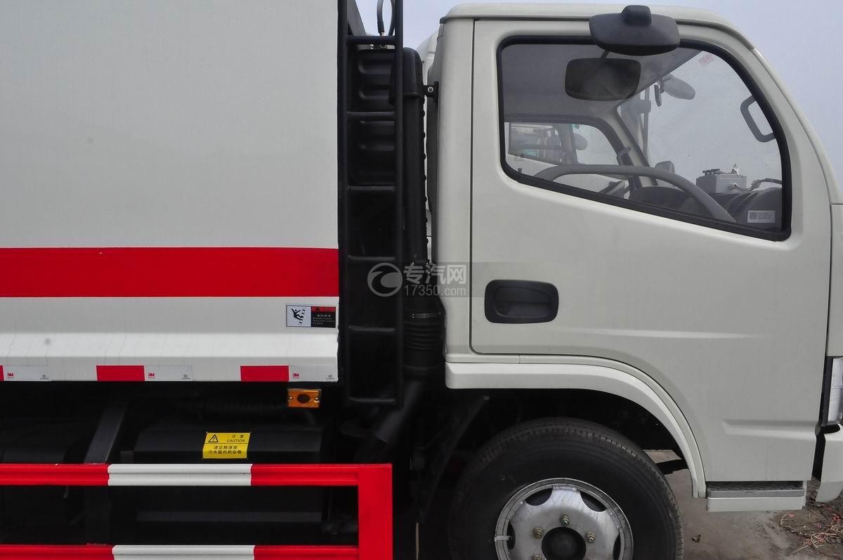 东风福瑞卡压缩式垃圾车空气进出口装置