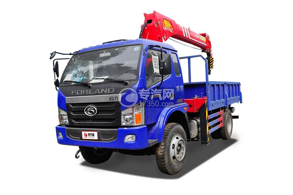 福田时代中驰D6单桥国五7吨随车吊