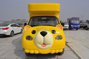 金杯小金牛流动售货车(黄)图片