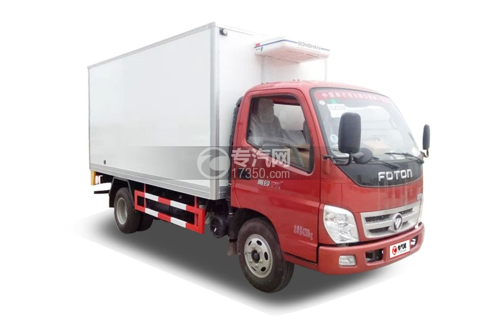 福田奥铃国五4米冷藏车