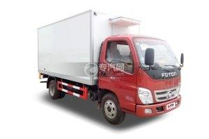 福田奧鈴國五4米冷藏車