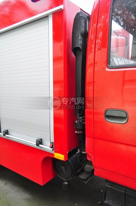 五十铃水罐消防车空气进出口装置