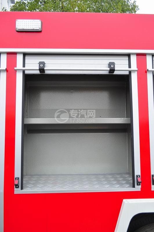五十铃水罐消防车器材箱