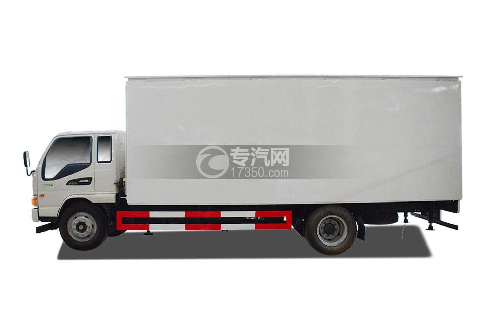 江淮骏铃厢式运输车左侧图