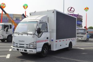 慶鈴五十鈴 LED廣告車圖片